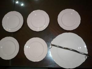 Juego de platos para masas