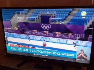 "LED TV 40"", Ken Brown, control nuevo, usb, tda, impecable"