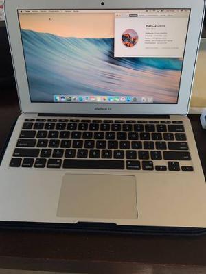 Macbook Air,  Gb, Intel Core I5, 4gb Memoria Ram