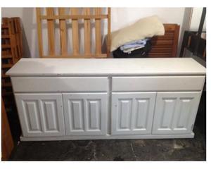 Mueble Comoda de Pino Color Blanco en La Plata
