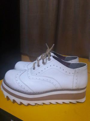 Zapatos de mujer talle 37 usado!!