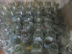 botellas de vidro