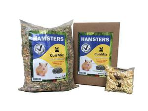 Alimento Balanceado Premium Para Hamsters Cuismix X 25 Kg
