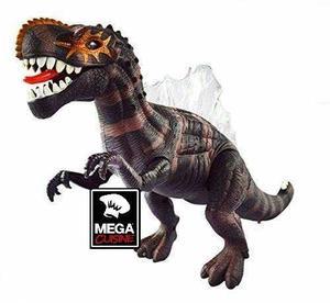 Dinosaurio Spinosaurus A Pilas 43cm Luces Y Sonido Camina