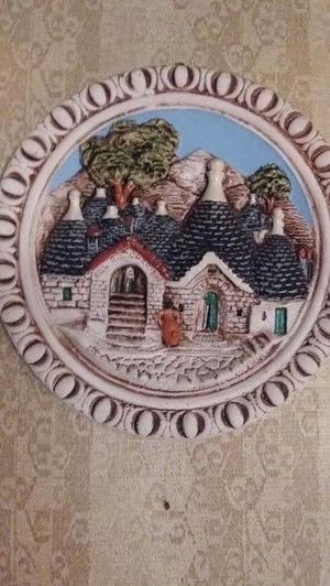 VENDO PLATOS CERAMICA DECORATIVOS DE ITALIA Y DE HUMAHUACA