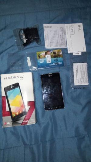 Vendo LG L7 usado con papeles y cargador $800