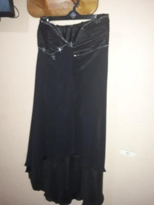 Vendo vestido de fiesta corte irregular