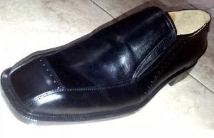 Zapatos De Vestir Hombre 100% Cuero En Negro
