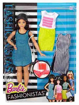 Barbie Fashionistas Num  Orig De Mattel!!!