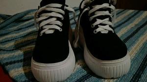 Zapatillas altas un uso.