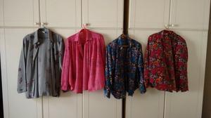 lote de 20 camisas usadas, de mujer
