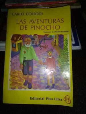 Las Aventuras De Pinocho - Collodi Trad. Vicente Barbieri
