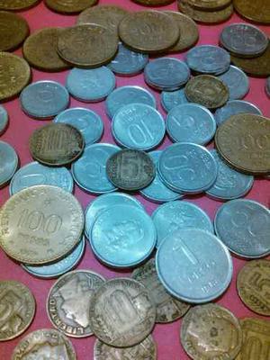 Lote De 30 Monedas Argentinas Antiguas.