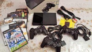 Playstation 2 Slim Chipeada