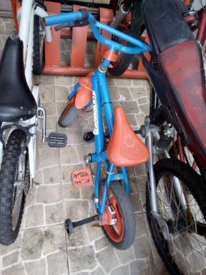 bicicleta bmx rodado 12 con rueditas