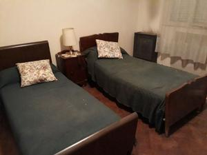 camas de una plaza