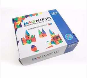 Imanes Bloques Magneticos 100 Piezas Magnific Envio Gratis