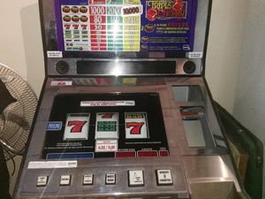 Maquina de garage de casino antigua