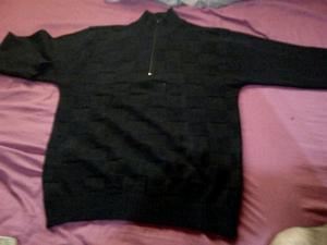 Pullover negro para hombre