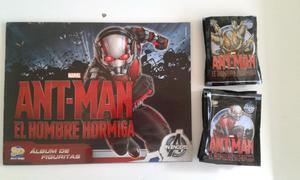 Vendo lote de 50 sobres llenos de figuritas de Ant-Man