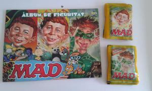 Vendo lote de 50 sobres llenos de figuritas de Mad