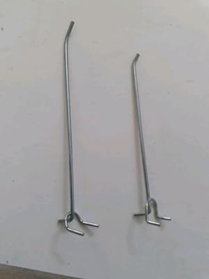 200 ganchos blisteros de 17 y 22cm usados en excelente