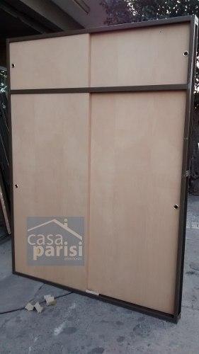 Frente De Placard Cedro Marco Chapa  X 2,40