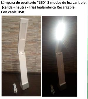 "Lampara de Escritorio - velador ""LED"""