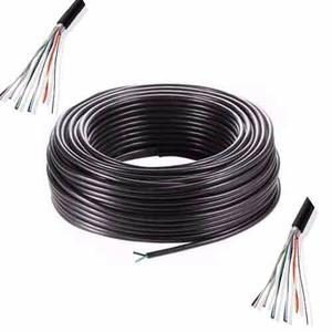 Cable X 100 Mts Exterior 4 Pares Subterráneo Portero Alarma