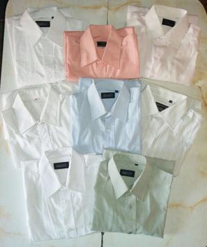 Camisas de hombre de vestir para trabajar (8 en total)