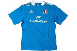 Camiseta De Rugby De Italia adidas Talle L