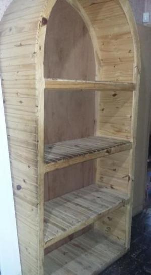 VENDO mueble de pino tipo repizas excelente estado