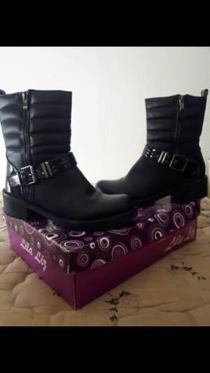 botas caña media Talle 40