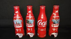 Coleccion De Botella Coca Cola Mundial  Aluminio, Llenas