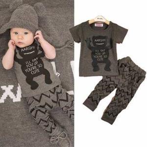 Conjunto Bebé Nene/a Diseño 100% Algodón Importado
