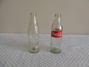 Lote 3 Botellas Coca Cola/rara250ml/237/coleccion Antigua