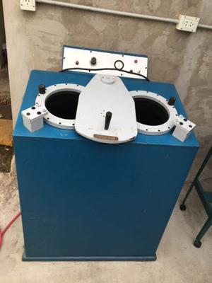 Maquina De Pegar Suela Tipo Lavarropas 2 Bocas Grandes