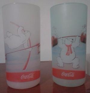 Vasos Coca Cola Colección Olimpiadas Set X 2
