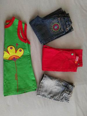 Lote Ropa Nena Talle 3 - Owoko Mimo Carters -