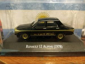 Renault 12 Alpine + manual de usuario en formato digital