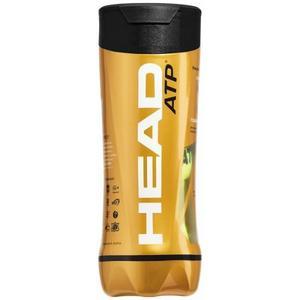 Tubo De Pelotas De Tenis Head Atp Gold X 3 Balls - Olivos