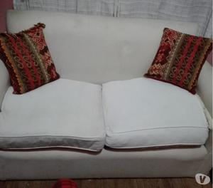 Vendo sillon 2 cuerpos de tela x mudanza