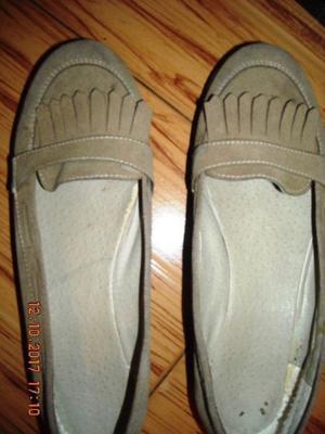 Zapatos De Gamuza Con Plataforma N:39 LIQUIDO POR MUDANZA