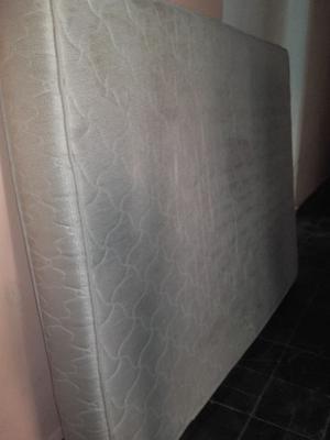 colchón 2 plazas con resortes