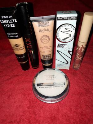 Oferta kit de maquillajes liquido