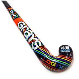 Palo Hockey Grays 100% Fibra Mod. Logix Hex-o -talle