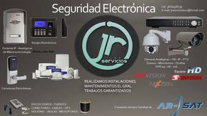 Seguridad Electrónica, instalación de Antenas
