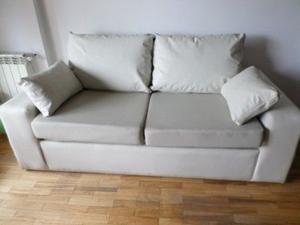 Sillon sofa cama 2 plazas con colchon