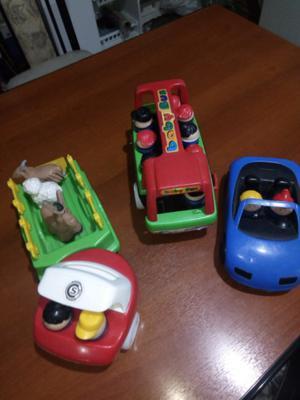 Autos de juguete usados buen estado.