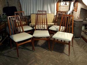 Juego de 6 sillas escandinavas